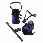 Teeter Hang Ups EZ-Up Gravity Boots with Conversion Bar Adapter Kit