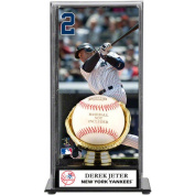 MLB - Derek Jeter Gold Glove Baseball Display Case | Details