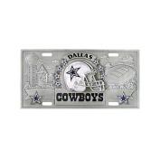 Siskiyou SportsFVP055 Dallas Cowboys- 3D NFL License Plate