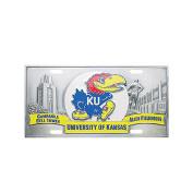 NCAA - Kansas Jayhawks Collectors Licence Plate