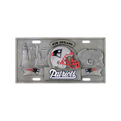 NFL - New England Patriots Collectors Licence Plate