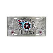 Siskiyou SportsFVP185 Tennessee Titans- 3D NFL License Plate