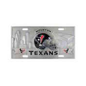 Siskiyou SportsFVP190 Houston Texans- 3D NFL License Plate