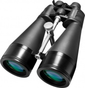 Barska 25-125x80 Zoom, Gladiator Binoculars, Bak-4, MC, Green Lens with Braced-in Tripod Adapter
