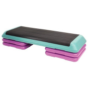 The Step Original Health Club Step with DVD - Multicolor