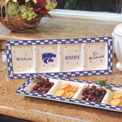 NCAA - Kansas State Wildcats Gameday Ceramic Relish Tray