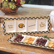 NCAA - Southern Miss Golden Eagles Gameday Ceramic Relish Tray