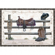 Custom Printed Rugs Home Accents Western Novelty Rug