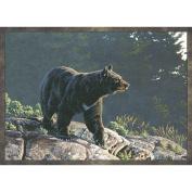 Custom Printed Rugs Wildlife Bear Novelty Rug