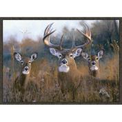 Custom Printed Rugs Wildlife Buck Stops Here Novelty Rug