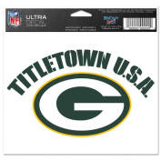 NFL - Green Bay Packers TitleTown USA 5x6 Cling Decal