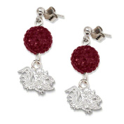 NCAA - South Carolina Gamecocks Ovation Sterling Silver Earrings