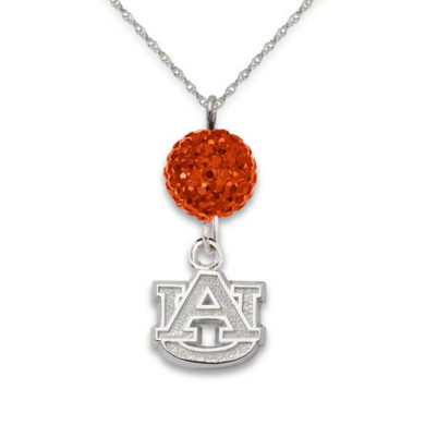 NCAA - Auburn Tigers Ovation Sterling Silver Pendant Necklace