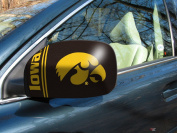 Fanmats 12035 COL - 5.5 in. x8 in. - University of Iowa Small Mirror Cover