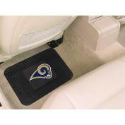 Fanmats 9971 NFL - 14 in. x17 in. - St Louis Rams Utility Mat
