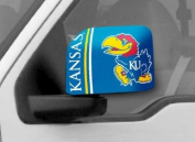 Fanmats 12052 COL - 6 in. x9 in. - University of Kansas Large Mirror Cover