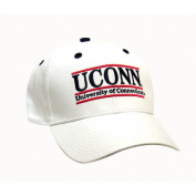NCAA - Connecticut Huskies 'The Game' Classic White Bar Adjustable Hat