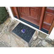 Fanmats 11851 COL - 19 in. x30 in. - Boise State Medallion Door Mat