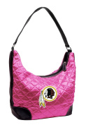 NFL - Washington Redskins Pink Quilted Hobo Purse