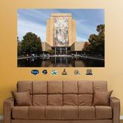 "NCAA - Notre Dame Fighting Irish ""Touchdown Jesus"" Mural Fathead"