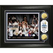 Highland Mint NBA Dallas Mavericks 2011 Champions Celebration 24KT Gold Coin Photo Mint