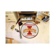 NCAA - Iowa State Cyclones Small Baseball Rug