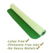 Yoga Direct Deluxe Travel Yoga Mat Rubber/Microfiber - Green