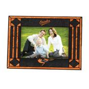 MLB - Baltimore Orioles Art Glass Horizontal Frame