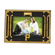 MLB - Pittsburgh Pirates Art Glass Horizontal Frame