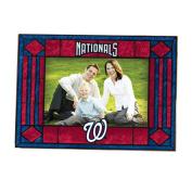 MLB - Washington Nationals Art Glass Horizontal Frame
