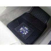 Fanmats 09398 Nba - Sacramento Kings Heavy Duty Vinyl Car Mats