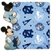NCAA - Disney North Carolina Tar Heels Mickey Mouse Plush & Blanket Set
