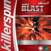 Killerspin 420-01 Blast Table Tennis Rubber - Max - Red