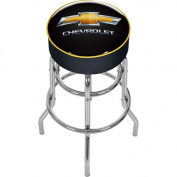 Trademark Global Chevy Padded Bar Stool