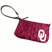 NCAA - Oklahoma Sooners Quilted Wristlet
