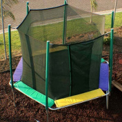 Kidwise Sports Tramp Hexagon 3.7m Trampoline with Enclosure