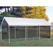 ShelterLogic Canopies Max AP 3m x 6.1m 2-in-1 White Canopy with Screenhouse Enclosure Kit 23531