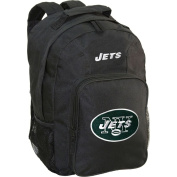 Concept One 804371943436 New York Jets Black Southpaw Backpack Blk- NFL
