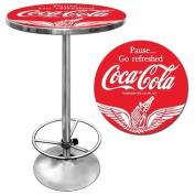 Trademark Global Wings Coca Cola Pub Table
