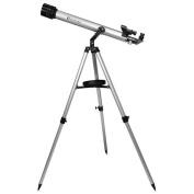 Barska Optics AE10752 600 Power 80060 Starwatcher Refractor AZ Silver Red Dot Finderscope Astronomy Software