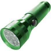 Hoffco 08-N104-G Norlite 19-LED Flashlight, Green