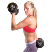 CAP Barbell 18kg. Dumbbell Set with Carry Case