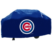 Rico Tag Industries 138412 Chicago Cubs Deluxe MLB Grill Cover