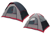 GigaTent Cooper Free Standing Family Dome Tent, 3m x 2.4m x 180cm