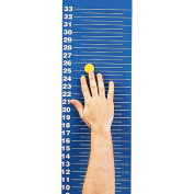 Magnetic Jump and Reach Vertical Jump Assessment Board