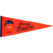 Chicago Bears Official NFL 80cm x 33cm Wool Throwback Pennant by Winning Streak