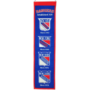 Winning Streak Sports 47001 New York Rangers Heritage Banner