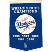 Winning Streak WSS-76125 Los Angeles Dodgers MLB Dynasty Banner 24x36