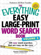 The Everything Easy Large-Print Word Search Book, Volume III [Large Print]
