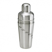 Kraftware Stainless Steel Recipe Shaker - Brushed Finish